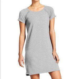 Athleta Pacer Short Sleeve Sweatshirt Dress XS